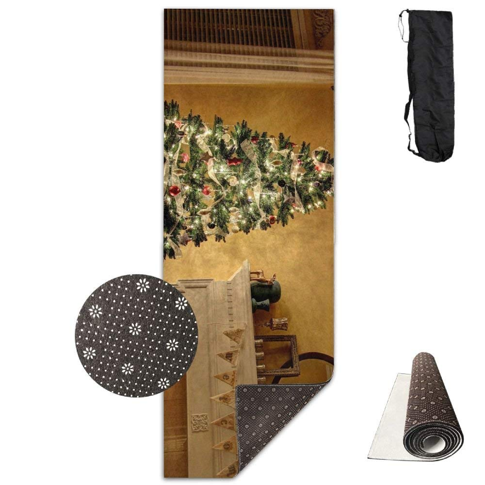 Christmas Tree Decoration Lodgings Mirror Fireplace Candles ECO Aqua Power Kinematic Iyengar Kundini Hot Pilates Gymnastics Hatha Yoga Mat and Other Mats That Need to Be Performed On The Ground