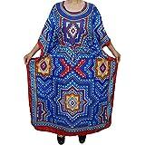 Mogul Interior Womens Kimono Caftan Kaftan Cover Up Beach Dress Resort Wear Francesca Maxi Dresses One Size