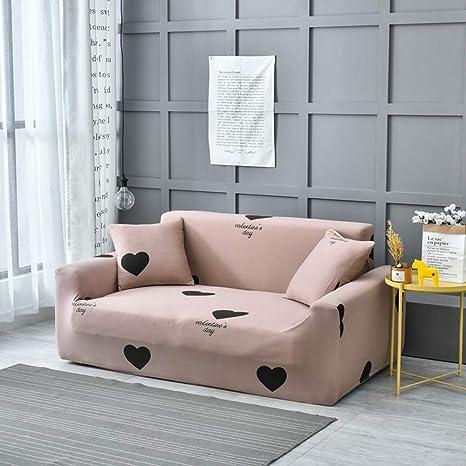 Amazon.com: Funda de sofá universal de poliéster elástico ...