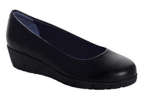 Para Mujer Camile Cómodos Anatómicos Amazon Negro Zapatos Oneflex 6O1AaqT