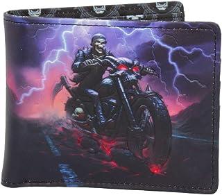 Nemesis Now Hell on The Highway - Portafoglio James Ryman, 10 cm, in Poliuretano, Taglia Unica, Colore: Nero