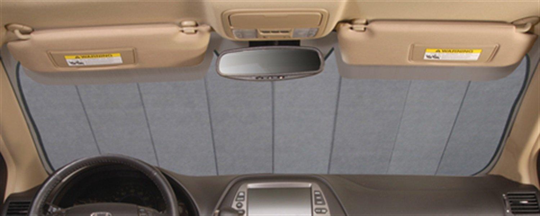Intro-Tech KI-18-S Custom Fit Windshield Snow Shade for Select Kia Soul Models Silver