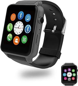 Evershop® SIM Tarjeta NFC Reloj Inteligente con Ritmo cardíaco ...