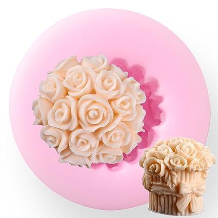 SurePromise One Stop Solution for Sourcing Rosa Flor Silicona Molde de Resina Arcilla de polímero de