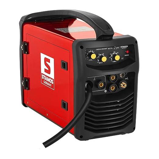 Stamos Germany - S-MIGMA 250.IGBT - Equipo de soldar multiproceso - 250 A - 230 V - FCAW - Envío Gratuito: Amazon.es: Bricolaje y herramientas
