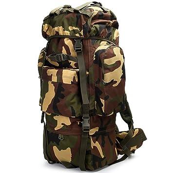 Mochilas montaña Mochila de viaje Mochila de viaje gran capacidad táctica fuerzas especiales mochila hombres y