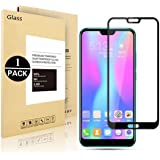 Verre trempé Huawei Honor 10 , Voigeer [Ultra Thin 9H Dureté] [1 Pack] Huawei Honor 10 Film Protection en Verre trempé écran Protecteur Ultra Résistant Glass Screen Protector pour Huawei Honor 10