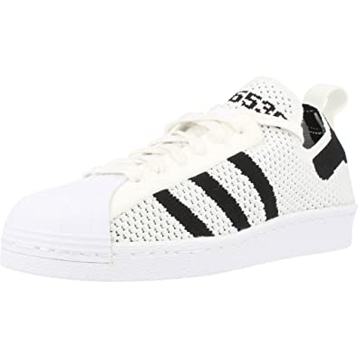 ba958c6d488 Adidas Superstar 80 S Primeknit Slip-On Trainers White 5.5 UK  Amazon.co.uk   Shoes   Bags