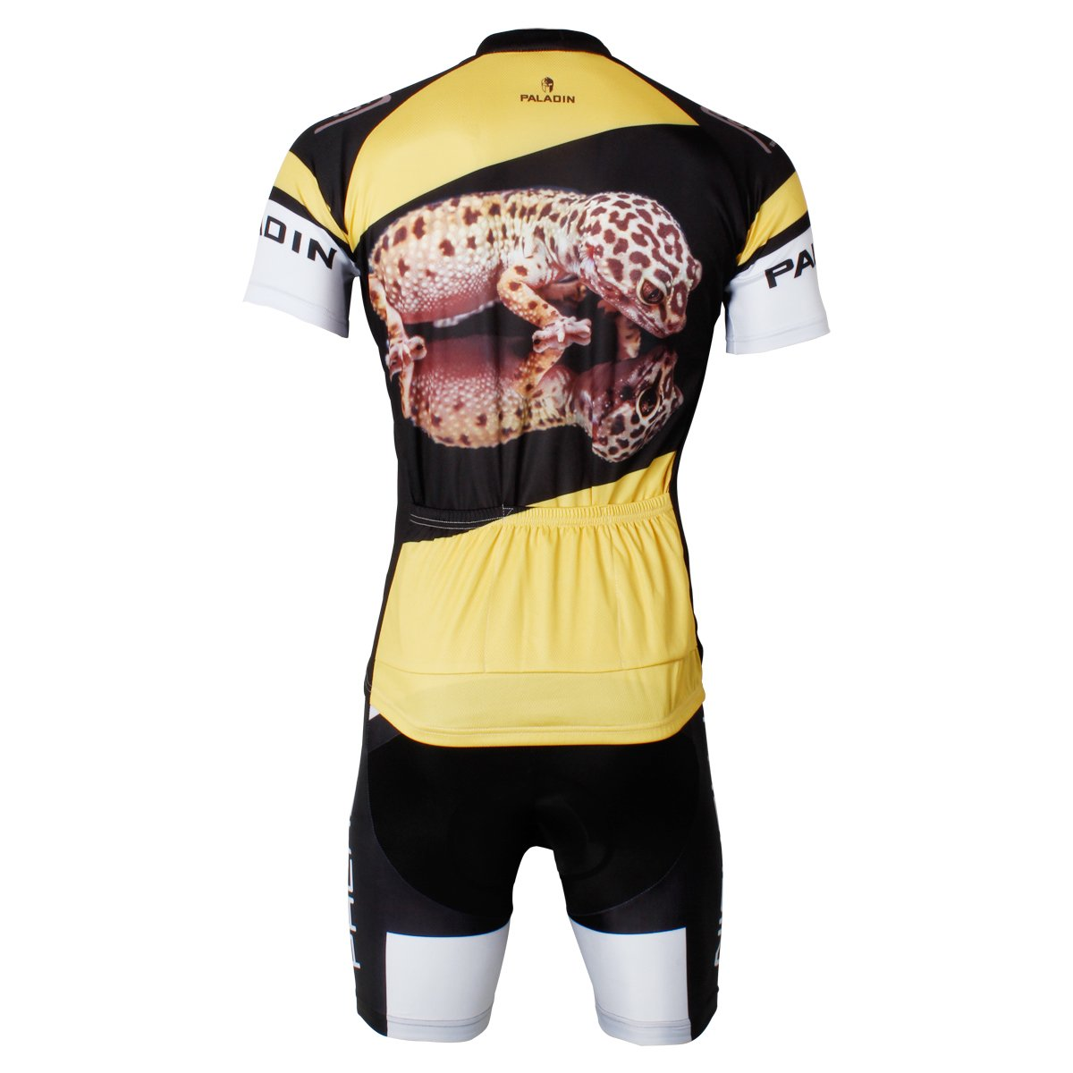 e215bda22 Amazon.com   Paladin Breathable Men s Cycling Jersey Set Short Sleeve  Lizard Pattern Tight Design   Sports   Outdoors