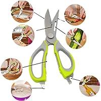 Hayder Multifunctional Kitchen Scissors Heavy Duty Stainless Steel Food Scissors Poultry Shears Bottle Opener Meat Scissors