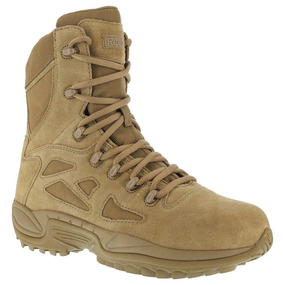 Reebok Work Womens Rapid Response RB Women's Stealth 8 inch Work/Duty Boots by Reebok
