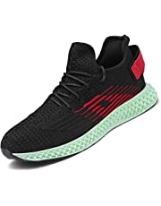 101fda6f5b7aa Men Women Running Shoes Sports Trainers Shock Absorbing Sneakers for  Walking Gym Jogging Fitness Athletic Casual