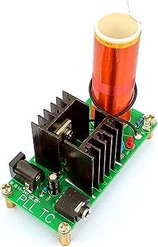 Mini Music Tesla Coil Plasma Speaker Wireless Transmission Power Sound J4B9