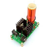 JZK® DIY 15W Mini Set di altoparlanti del Plasma Kit Kit per bobine Tesla per musica, giocattolo di trasmissione