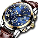 Mens Watches Waterproof Business Dress Analog Quartz Watch Review and Comparison