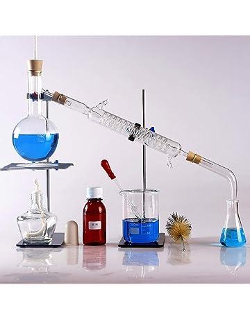 25/pezzi Nuovo laboratorio olio essenziale di vapore distillazione Apparatus cristalleria Kits acqua Distillatore purificatore W//separatore imbuto