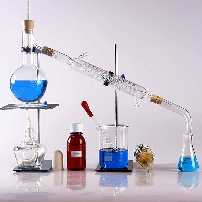 Equipo de cristalería purificador de destilación de laboratorio ...