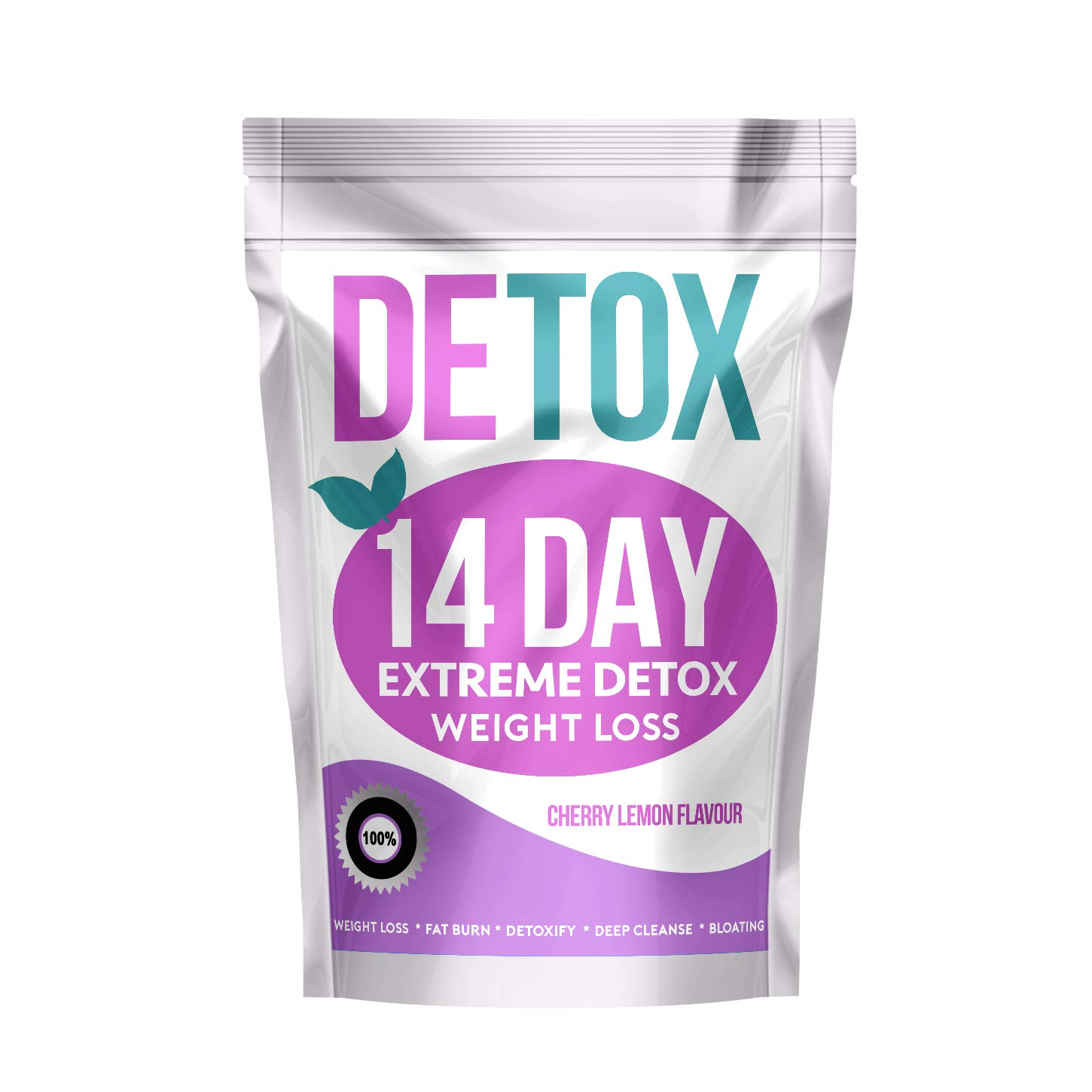 Extreme 14 Day Botanical Tea - Compatible with Diet Plans (Cherry Lemon Flavour)