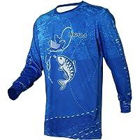 Lixada Camisa de Pesca de Manga Larga Ropa