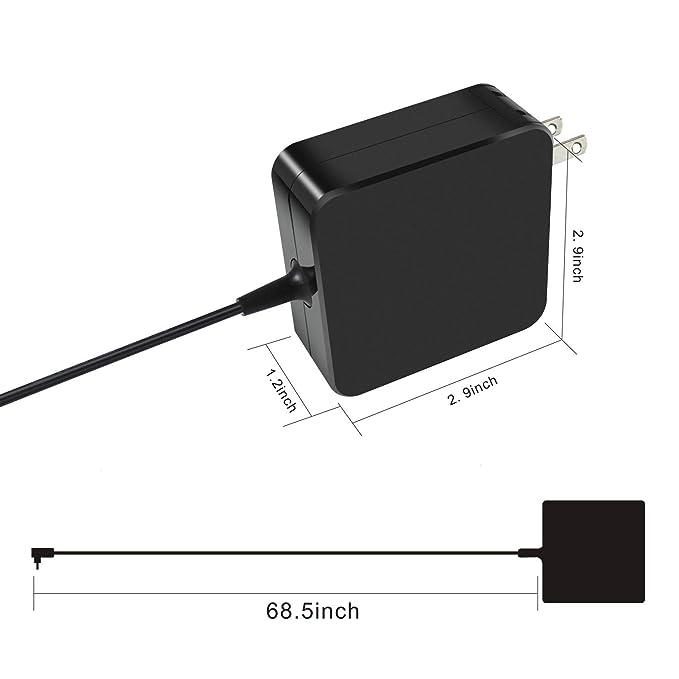 Amazon.com: Gomarty 65W AC Adaptador Cargador para Asus ...