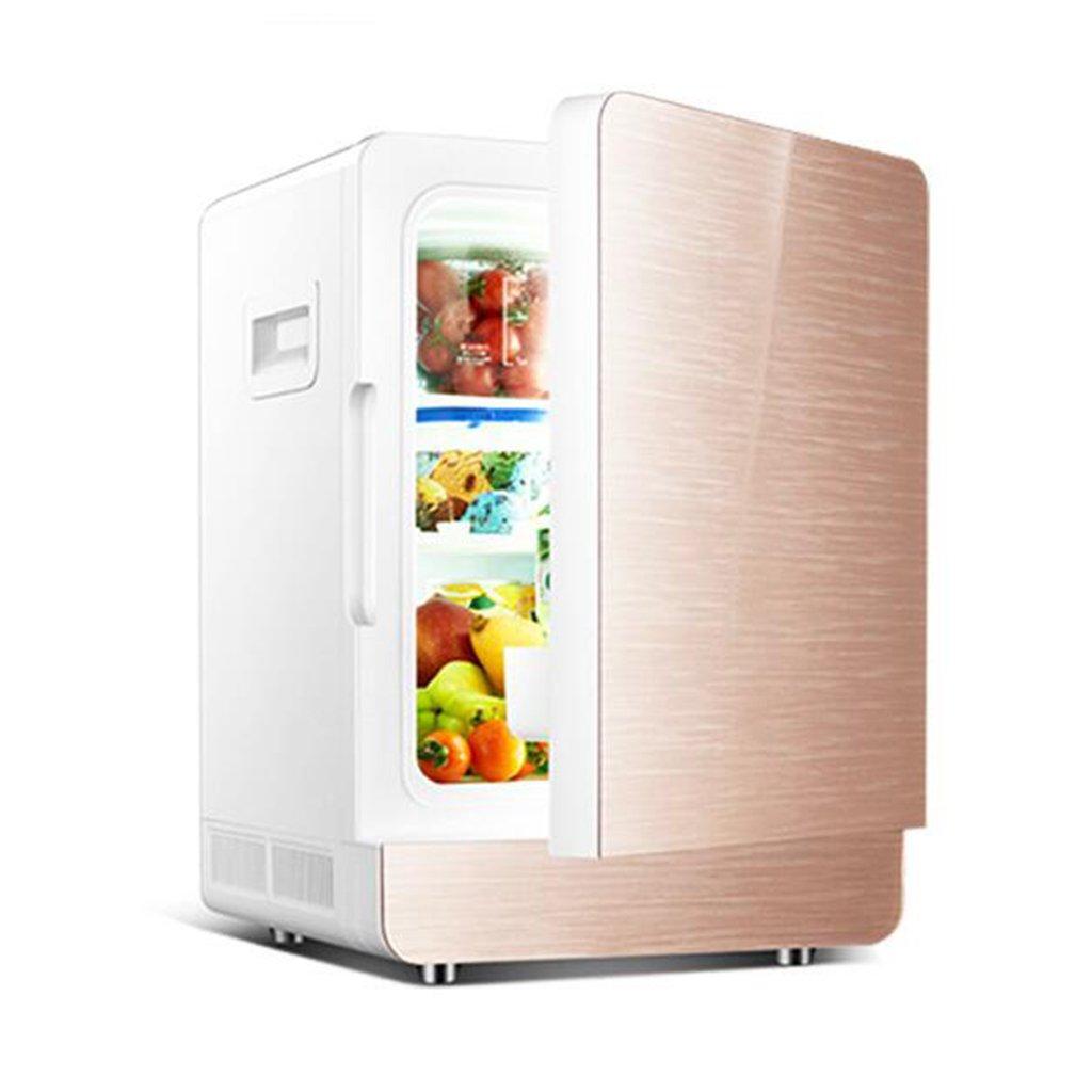 【名入れ無料】 GJM Shop 20L Shop 車の冷蔵庫 シングルドア ダブルコア 冷凍 車の家庭の二重使用 冷凍 冷蔵庫 車の冷蔵庫 (色 : ゴールド) ゴールド B07G6V6X62, きもの葛西屋:513b18f4 --- arianechie.dominiotemporario.com