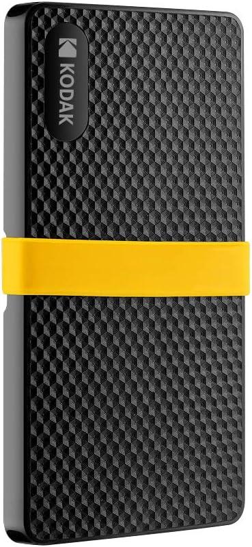 Grborn Unidad de Estado sólido móvil Kodak X200 Series HD SSD PSSD ...
