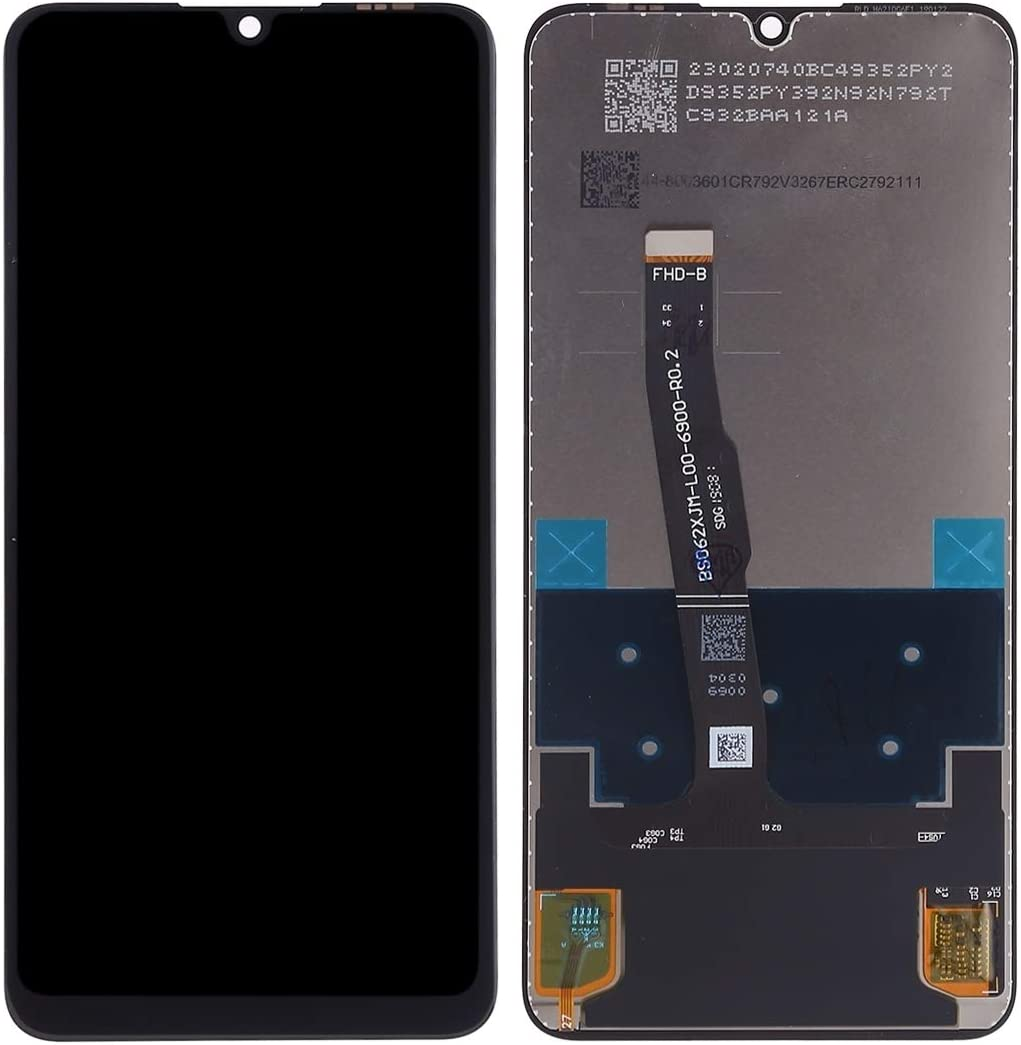 LCD Screen Mobile Phone and Digitizer Full Assembly for Huawei P30 Lite Black Color : Black