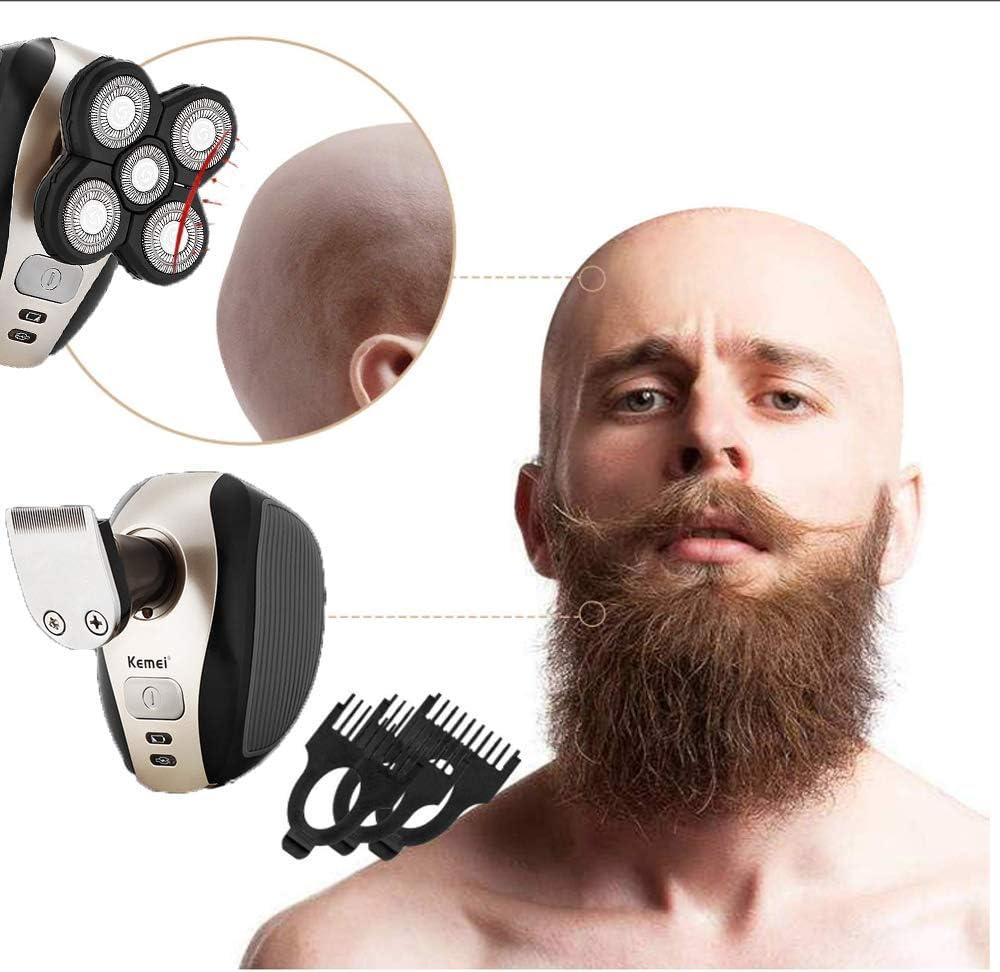 Maquinilla De Afeitar Eléctrica para Hombres Hombres Calvos Shaver ...