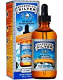 Natural Immunogenics Sovereign Bio-Active Silver Hydrosol for Immune Support Dropper, 10 ppm, 4 oz(118ml)
