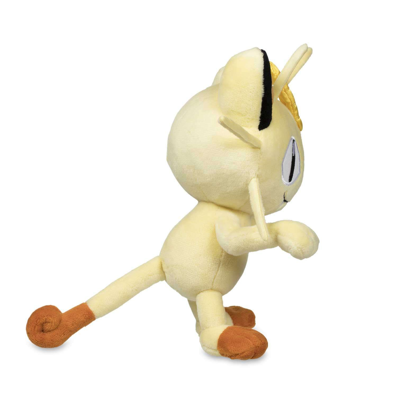 Pokemon Center Original Stuffed Poke Plush Doll Meowth 7.5-Inch Nyarth