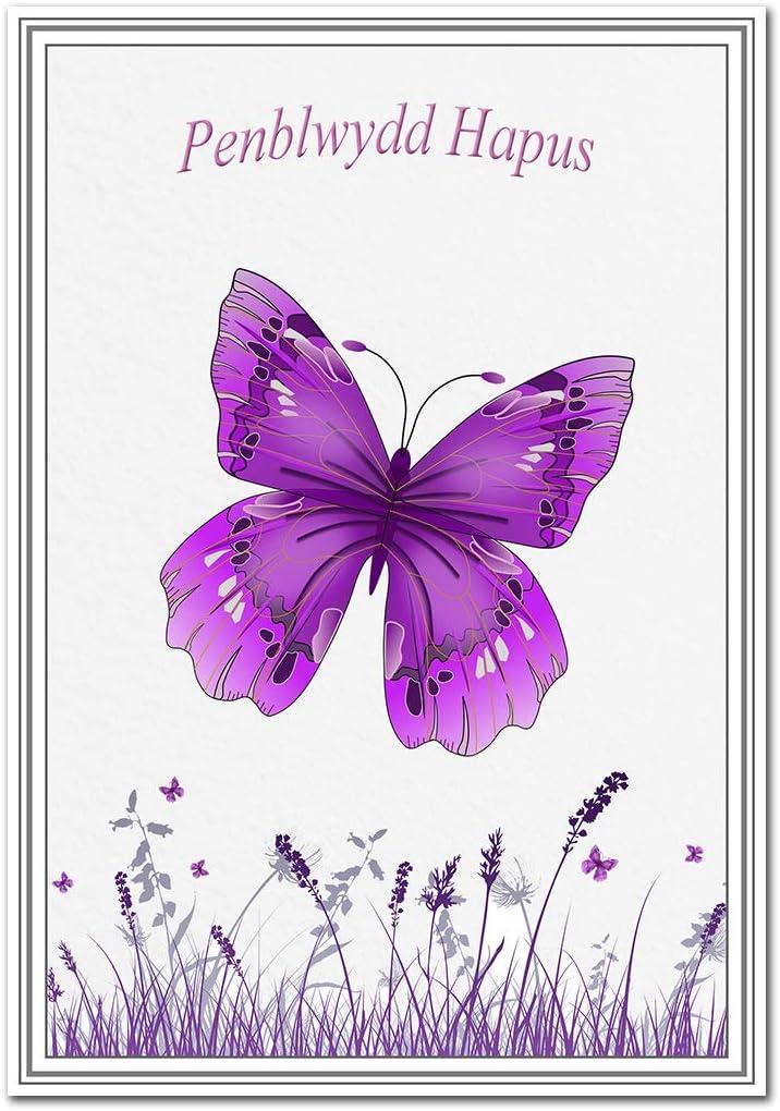 PENBLWYDD HAPUS ~ QUALITY WELSH LANGUAGE ~ BIRTHDAY CARD ~ CHOICE OF DESIGNS