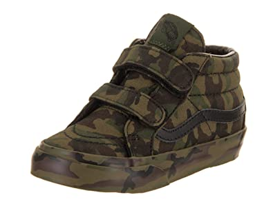 2f1cb22ada Vans Toddler Sk8-Mid Reissue V (Mono Print) Classic Camo VN0A348JOP3 Toddler  4