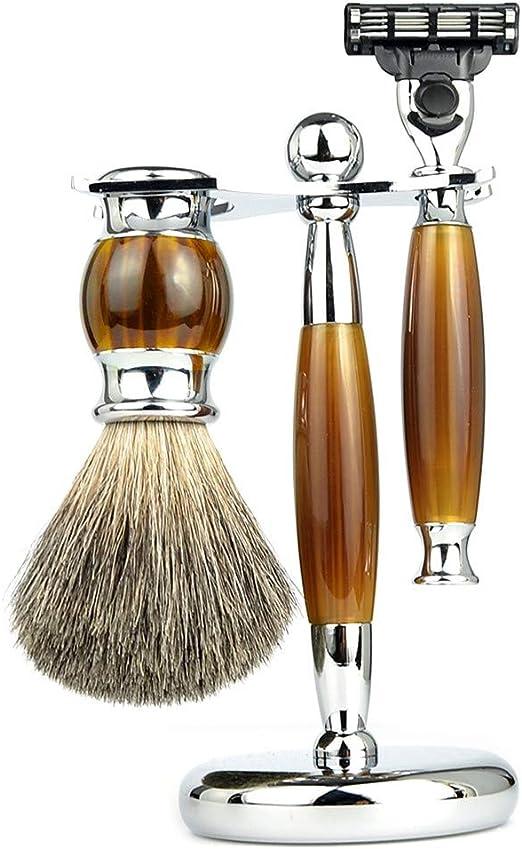 RBH Set de afeitadora Manual de afeitadora para Hombres, Set de ...