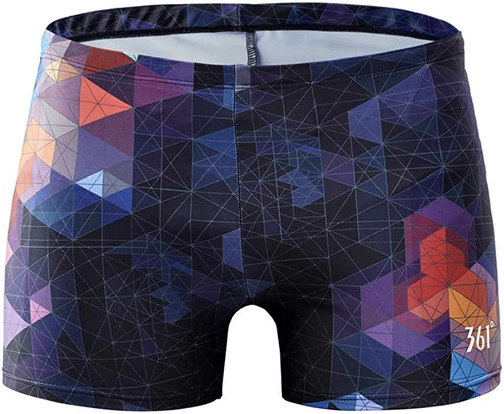 361º Jammers Swimsuit for Men & Boys,Competition Lap Swim Suit, Square Leg Endurance Training: Clothing