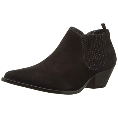 SCHUTZ Womens Jaqueline Nubuck Pointed Toe Booties: Shoes