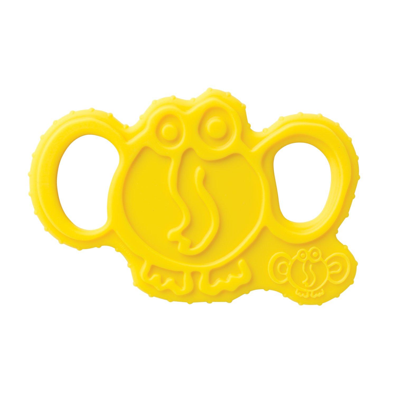 【送料込】 oogaa Easy Baby Silicone B0752YGVPK Elephant Teether - Easy Clean, oogaa Baby Safe - 8 x 3.5in - Yellow by oogaa B0752YGVPK, アイ ショップ ホクト:435245c7 --- a0267596.xsph.ru