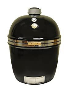 Grill Dome Infinity Series Ceramic Kamado Charcoal Smoker Grill