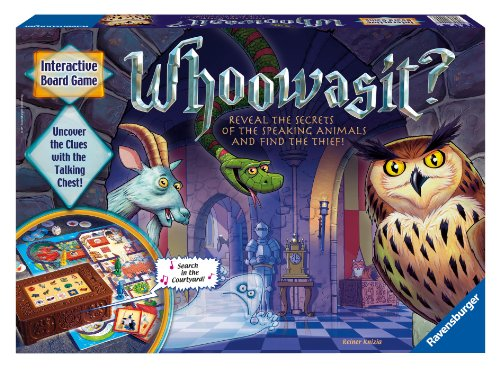 Whoowasit? Award-Winning Board Game Electronics