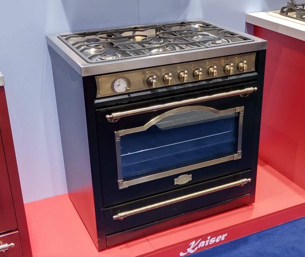 Kaiser Empire HGE 93555 Em/Retro - Cocina de gas eléctrica de pie ...