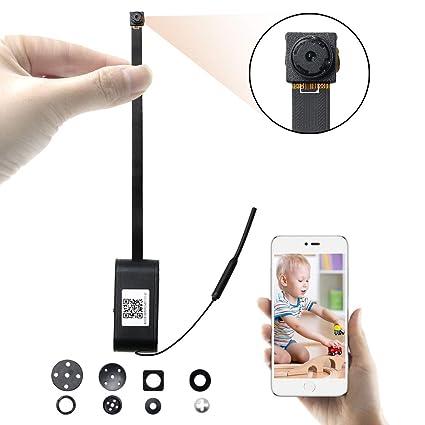 Mini Cámara UYIKOO HD 1080P WiFi Cámara Espía Pequeña Cámara Oculta Soporte de Detección de Movimiento