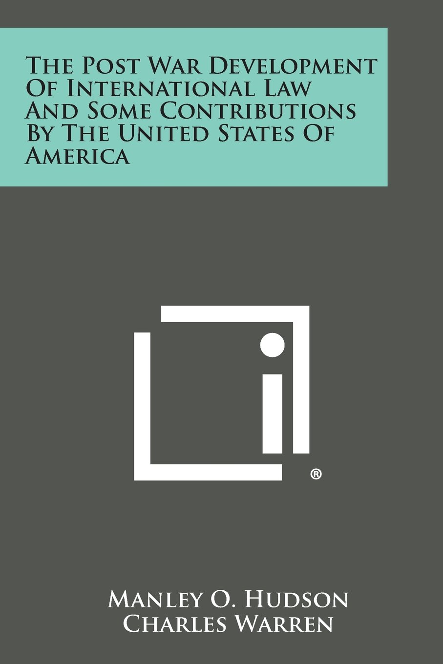 Download The Post War Development of International Law and Some Contributions by the United States of America PDF