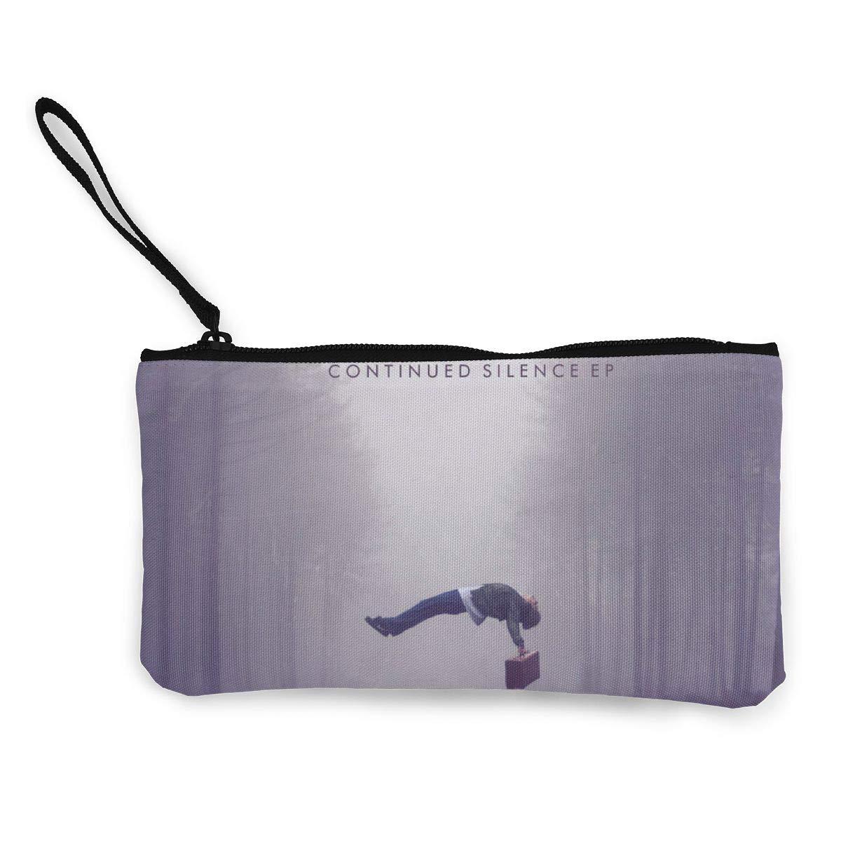 Im/_agine Dra/_gons Canvas Coin Purse Pouch Zipper Wristlet Wallet,Cellphone,Make Up Bag,Handle Key Holder