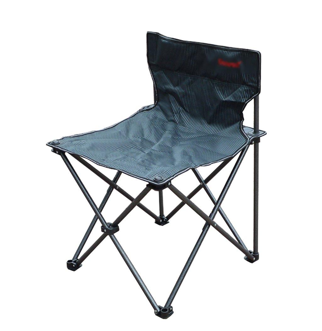 Y HWZDY Camping klappstuhl Camping Stuhl/Outdoor Klappstuhl, Angeln Freizeit Stuhl, Atmungsaktive Feste Portable Beach Chair, (Größe : 505073cm)