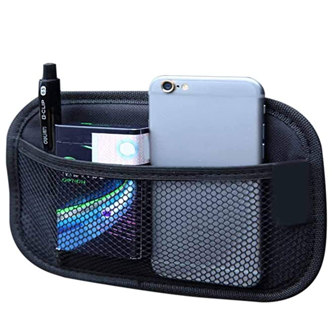 Speicher-Organisatoren f/ür Auto//LKW//Kofferraum Blue-Yan Car Boot-Taschen Car-Inside-Handy-Handy-Aufbewahrungsbox-Beutel-Aufbewahrungsbeutel-Speichernetz f/ür Flaschen//Lebensmittel