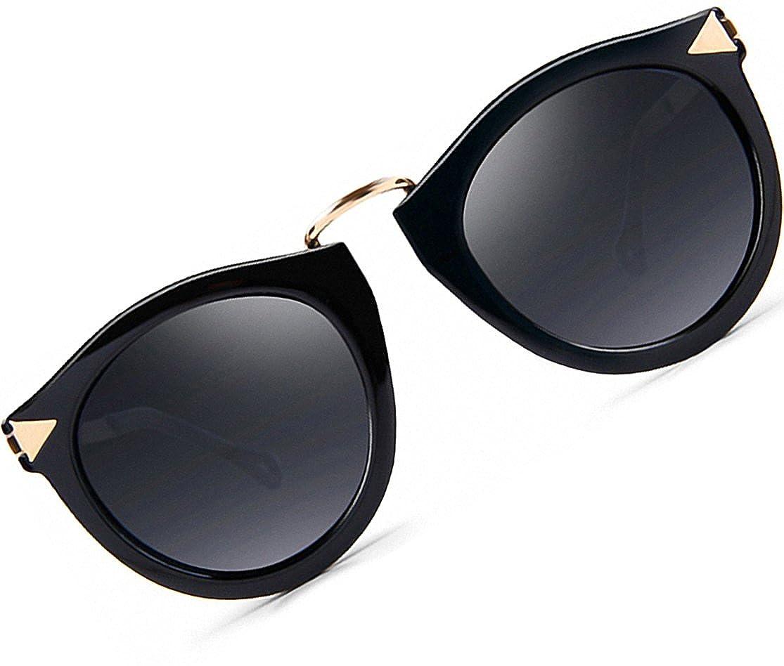 bb23842c419 ATTCL Vintage Fashion Round Arrow Style Polarized Sunglasses for Women