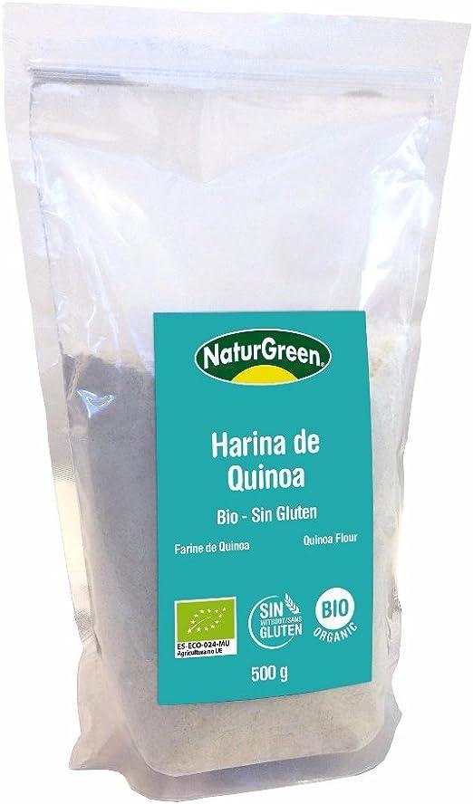 NaturGreen Harina Ecológica - Paquete de 6 x 400 gr - Total: 2400 gr