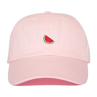 Watermelon Hat - Black Fruit Dad Cap Tumblr  Amazon.co.uk  Clothing bdc3b26d7755