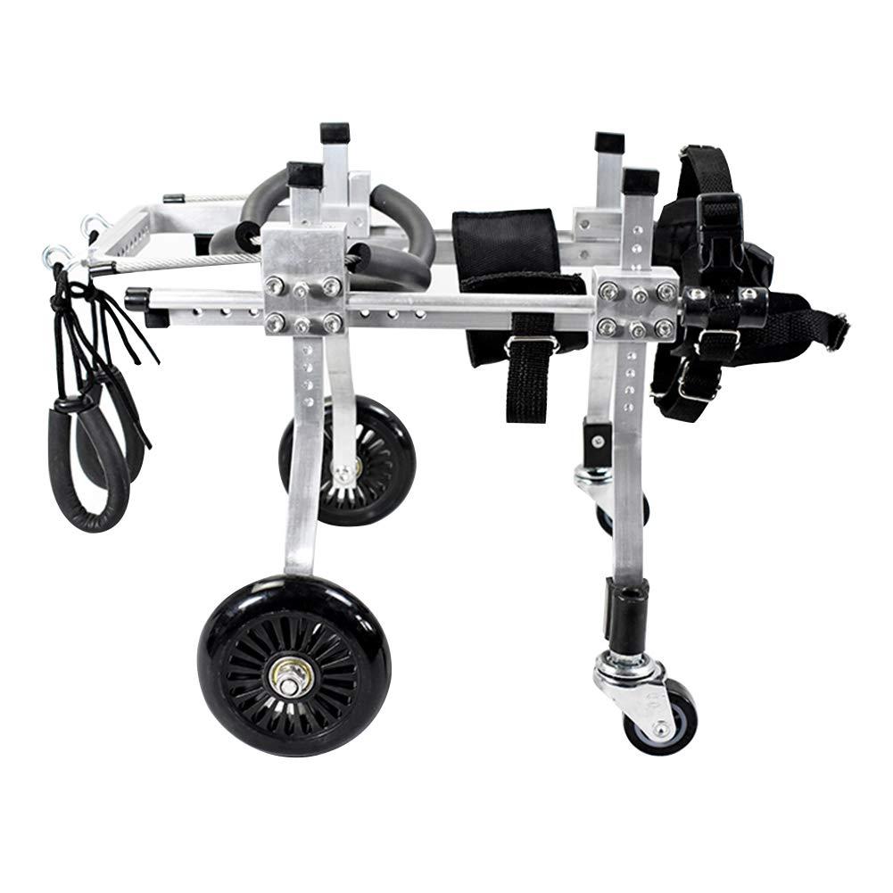 nuova esclusiva di fascia alta LQQGXL Carrozzina per per per Cani Scooter per Cani Arti Posteriori carrozzella per disabili carrozzella per addestramento di Riabilitazione per Animali Domestici (colore   A, Dimensioni   S.)  rivenditori online