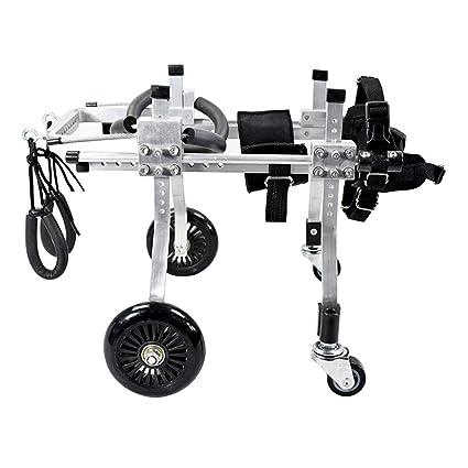 KXBYMX Silla de Ruedas para Perros/Scooter para Perros/Miembro Trasero para discapacitados/