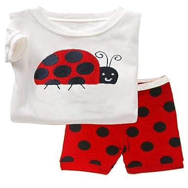 Conjuntos de Pijamas para niñas Ropa de bebé Traje Niña Niños Ropa ...